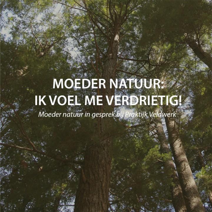 Moeder natuur in gesprek bij Praktijk Veldwerk.